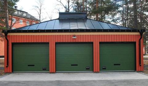 Garage, ombyggnation
